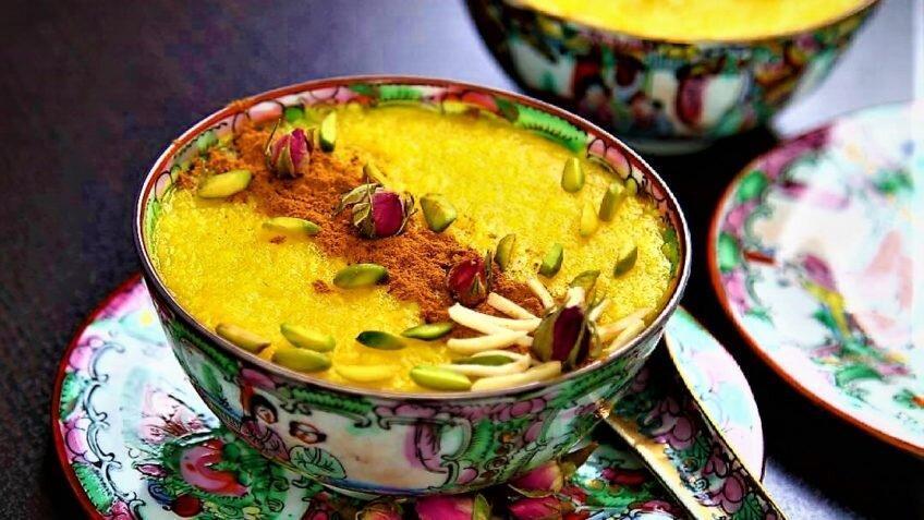 طرز تهیه شله زرد ساده خانگی ، خوشمزه ترین و پرطرفدارترین دسر ایرانی در ماه رمضان