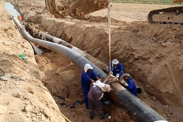 خسارت سیلاب به تأسیسات آب رسانی شهر آببر