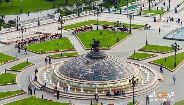 از میدان مانژ مسکو چه می دانید؟