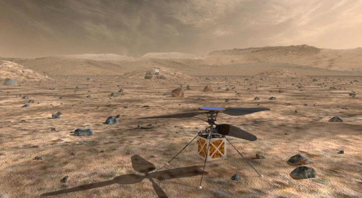 رشد سبزیجات سالادی روی مریخ