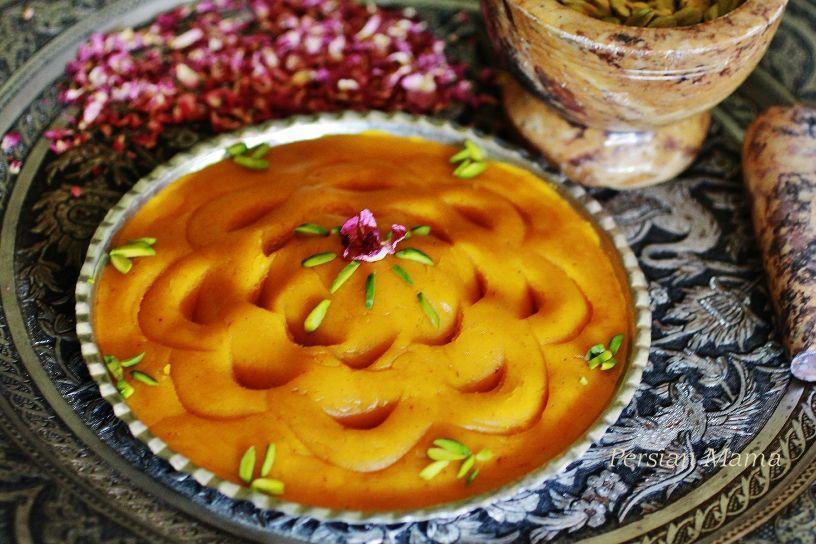 طرز تهیه ترحلوا شیرازی دو رنگ و ساده