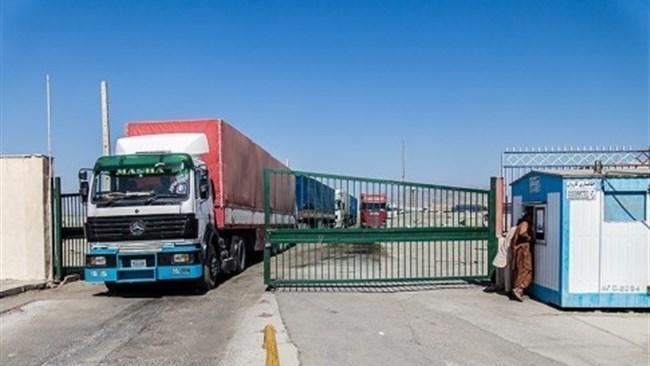 محدودیت های تردد کالای تجاری در مرز میرجاوه به طور کامل برداشته شد