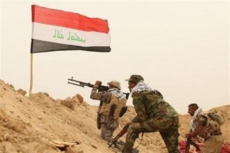 عراق، نبرد شجاعانه حشد شعبی حمله سنگین داعشی ها در استان دیالی را دفع کرد