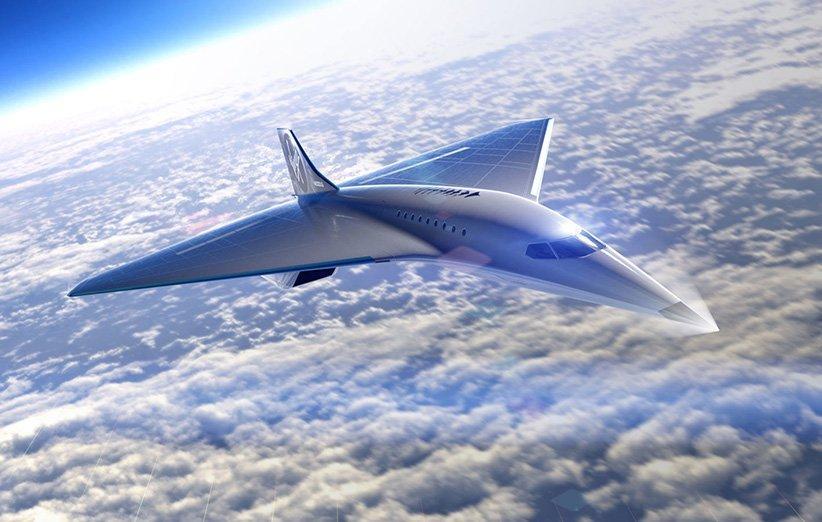 ویرجین گلکتیک از طراحی هواپیمای فراصوت خود رونمایی کرد