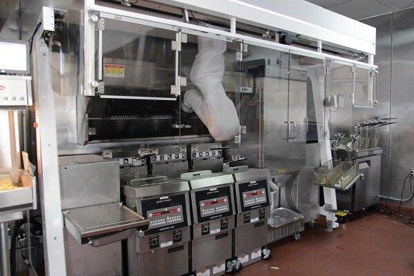 روباتی که 19 ماده غذایی را سرخ می نماید