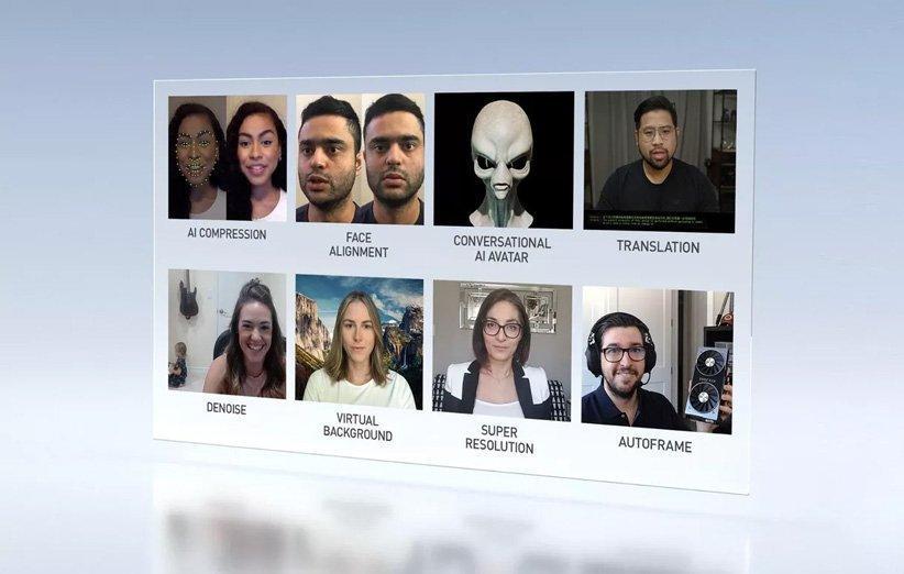 هوش مصنوعی انویدیا می خواهد تماس های تصویری را بهتر کند