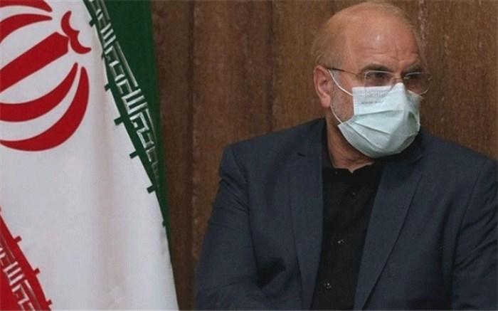 پزشک معالج: کرونای رئیس مجلس، خفیف است