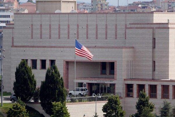 سفارت آمریکا ارائه خدمات در ترکیه را متوقف کرد