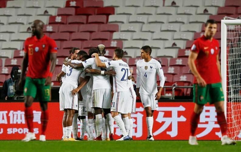 لیگ ملت های اروپا، صعود فرانسه به نیمه نهایی، دبل راموس در خراب کردن پنالتی