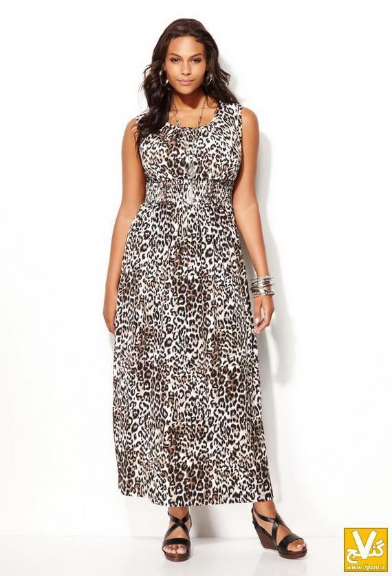 جدیدترین مدل های لباس مجلسی برای خانمهای تپل و باردار-سری 1