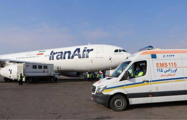 جزئیات فرود اضطراری پرواز تهران-پاریس در فرودگاه تبریز