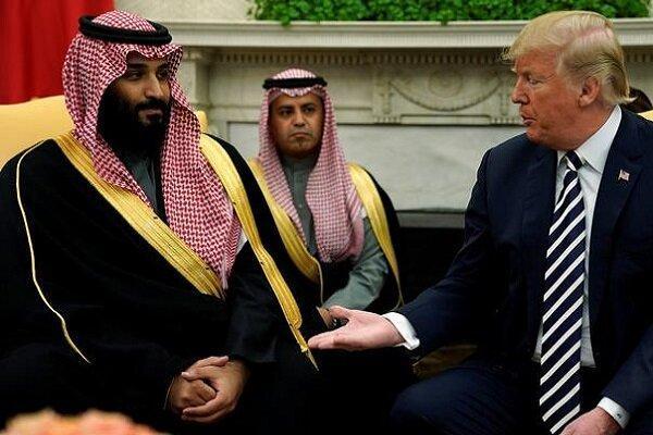 ترامپ خطاب به بن سلمان: می خواهم در کاخ سفید بمانم، پول بده!