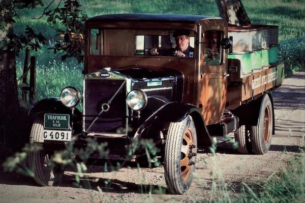 آشنایی با تاریخچه کامیون های ولوو در دهه 1930