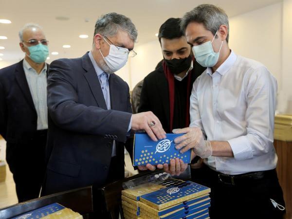 بازدید وزیر فرهنگ و ارشاد اسلامی از فرایند ارسال هنرکارت هنرمندان