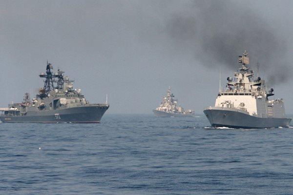 روسیه در دریای سیاه رزمایش برگزار کرد