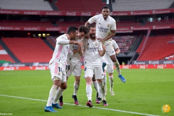 (ویدیو) خلاصه بازی اتلتیک بیلبائو 0 - 1 رئال مادرید 26 اردیبهشت 00