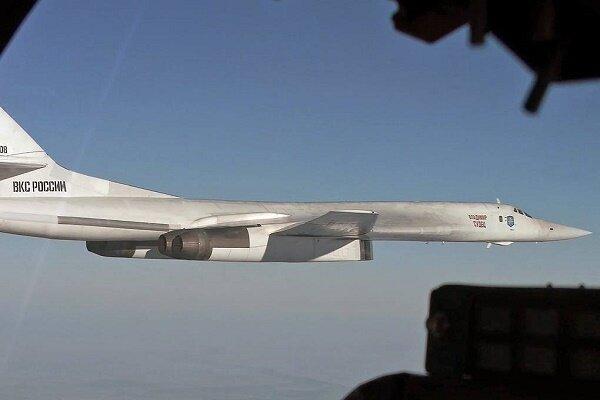 تعقیب بمب افکن های روسی توسط جنگنده های اروپایی در دریای بالتیک
