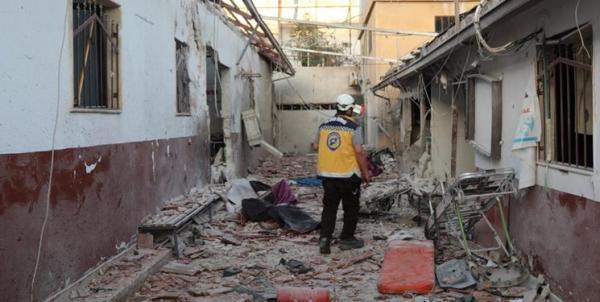 حمله تروریست ها به بیمارستانی در شمال سوریه 13 کشته برجای گذاشت
