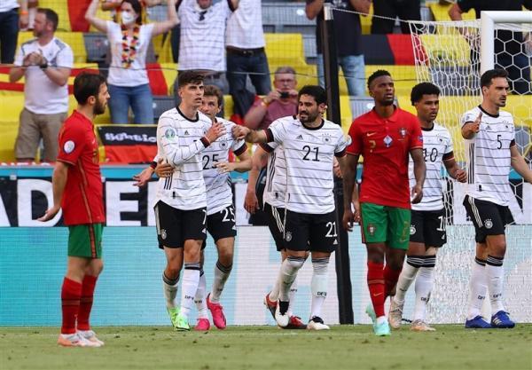 یورو 2020، برد پرگل آلمان مقابل پرتغال از دریچه دوربین