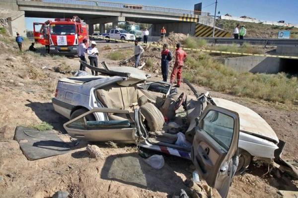 4 کشته و 2 مجروح در پی واژگونی پژو 405 در مشهد