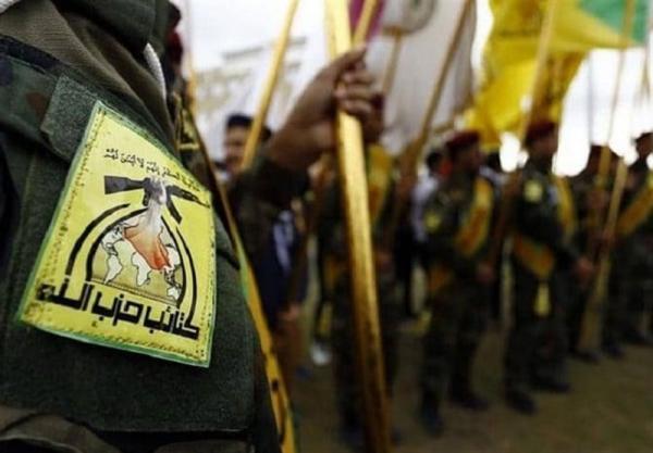 مقابله حزب الله عراق با پرنده ناشناس در استان بابل