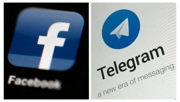 روسیه فیس بوک و تلگرام را جریمه کرد