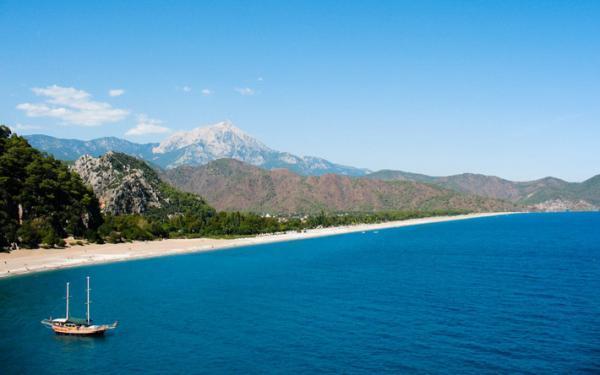 5 ساحل زیبا آنتالیا، برترین سواحل آنتالیا ترکیه، ساحل زیبای آنتالیا