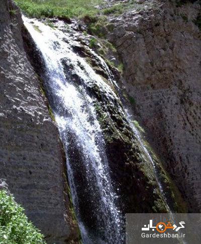 آبشار زیبای نورالی در ارتفاعات هزار مسجد خراسان، عکس