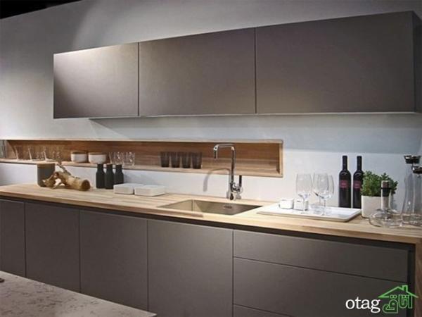 نکات ارزشمند در طراحی کابینت آشپزخانه مدرن بهمراه 30 مدل عکس