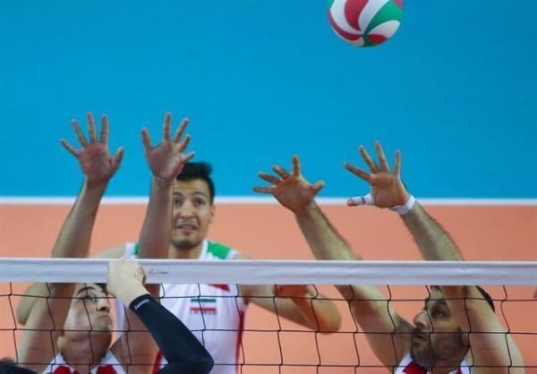 رجحان تیم ملی والیبال نشسته ایران مقابل برزیل
