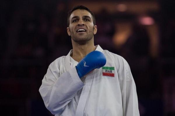 اسم گرندوینری کاراته برای ذبیح الله پورشیب